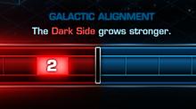Commandement galactique – Obscurité contre Lumière